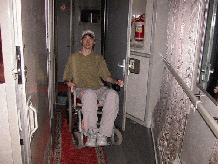Вагоны  для инвалидов фото