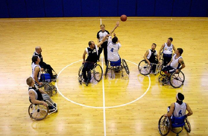 Баскетбол на колясках (3 фото+видео)