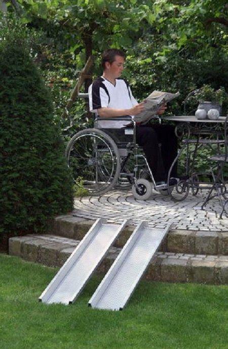 Пандусы для инвалидных колясок фото