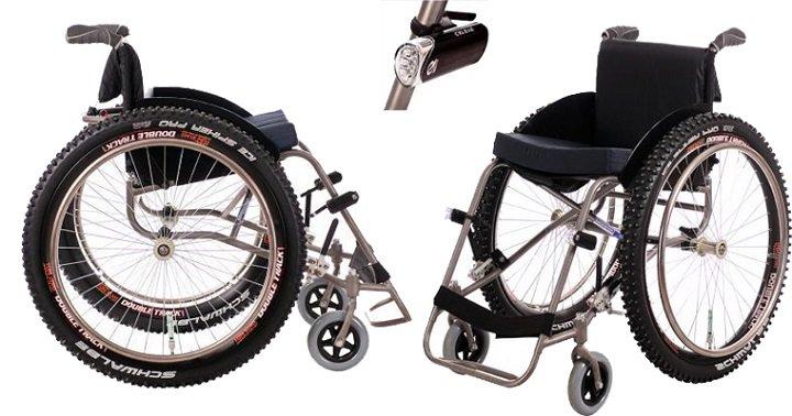 Инвалидная коляска, модель Пикник «Экстрим» (3 фото)
