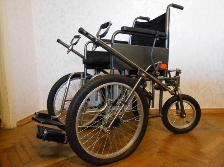 Рычажная коляска модель-ДККС-1 (2 фото)