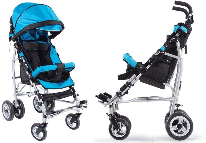 Детская инвалидная коляска, модель Umbrella (Амбрелла)(3 фото)