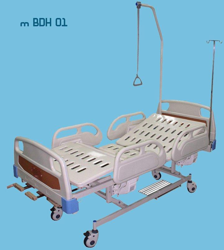 Медицинская многофункциональная механическая кровать модель BDH 01 (3 фото)