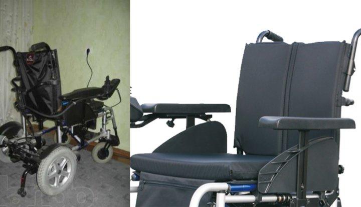 коляска с электрическим приводом Excel X-Power 10 спинка