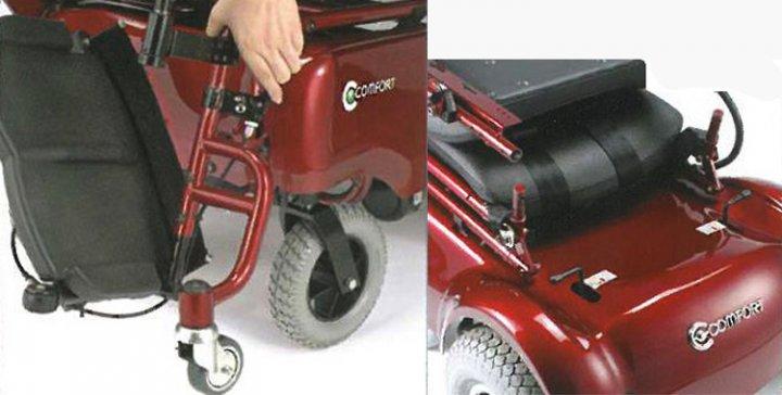 Кресло-коляска  с вертикализатором модель LY-103-220