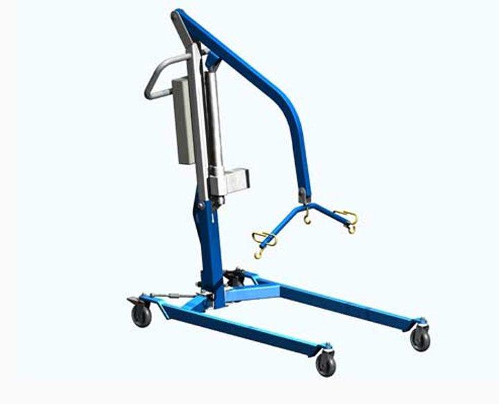 Подъемник передвижной с электроприводом  для инвалидов, модель ИПП-2Э (2 фото+видео)