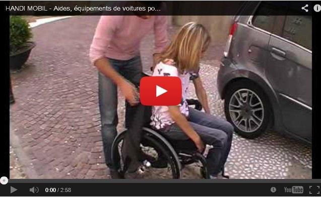 Подъемник для пересадки инвалидов в машину HANDI MOBIL
