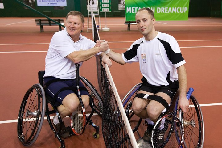Теннис на колясках (4 фото+видео)