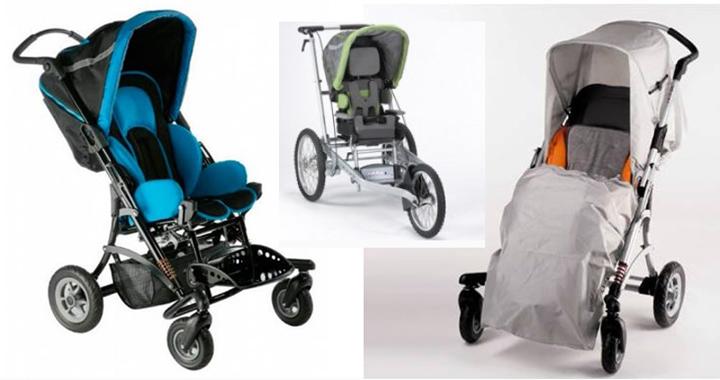 Детская инвалидная коляска «Кимба» (3 фото+видео)