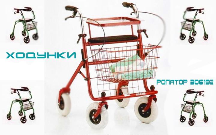 Ходунки для инвалидов Ролятор 306192 (MEYRA) (2 фото)