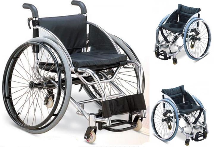 Инвалидная коляска для «Танцев на колясках» FS755L (МЕГА-ОПТИМУС) (3 фото+видео)