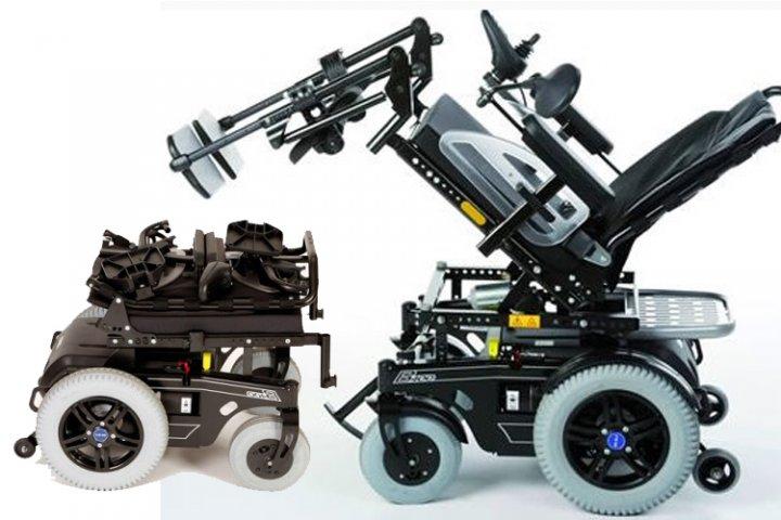 Кресло-коляска инвалидное с электроприводом, модель Б400