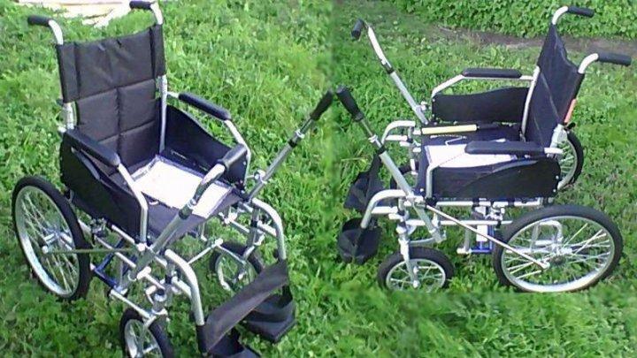 Инвалидная коляска с рычажным приводом ДЕЛЬТА (рычага)