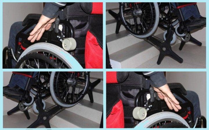 """Инвалидная коляска """"ступенькоход"""" под названием «Гради-стандарт»"""