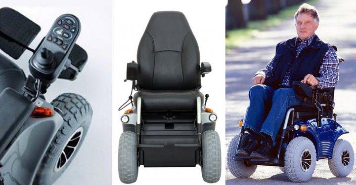 """Инвалидная коляска с электрическим приводом """"OPTIMUS 2"""" 2.322 (Meyra)"""