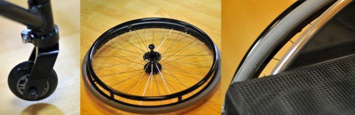 Инвалидная коляска для «Танцев на колясках» FS755L (МЕГА-ОПТИМУС)