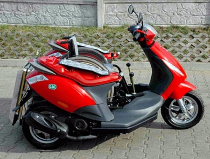 Трехколесный скутер для инвалидов Handiscoot (2 фото+видео)