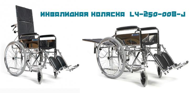 Функциональная инвалидная коляска  LY-250-008-J (Titan Deutschland GmbH)(2 фото)