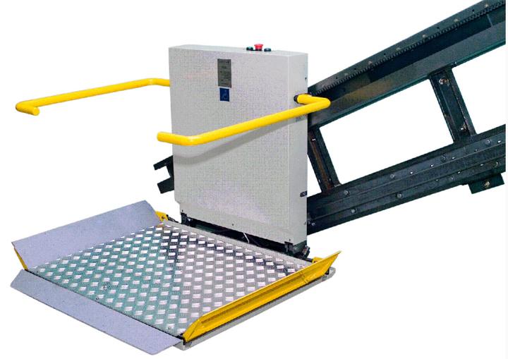 Подъёмник для инвалидов модели ПИН2010 (3 фото)