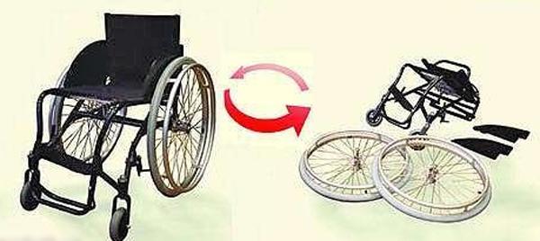 Инвалидная коляска «Искра» модель 201