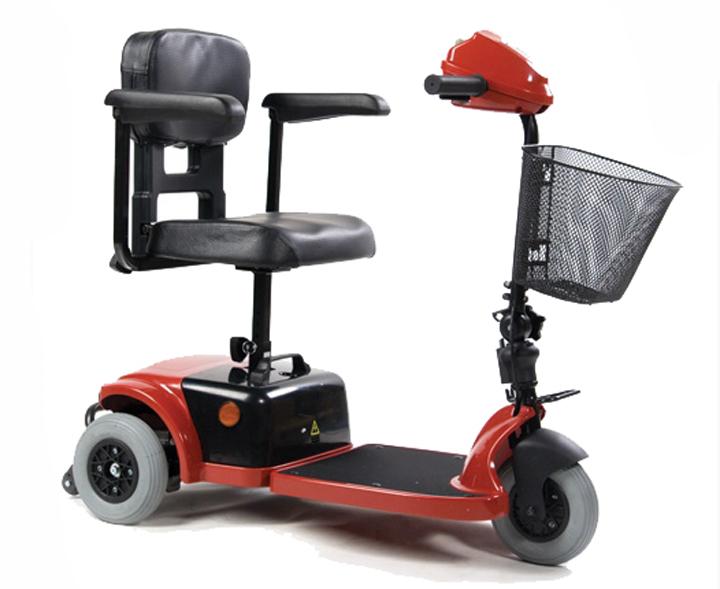 Скутер для инвалидов модель LY-103-125 (3 фото)