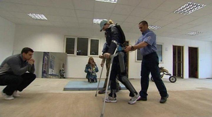 Реабилитация инвалидов система ReWalk фото