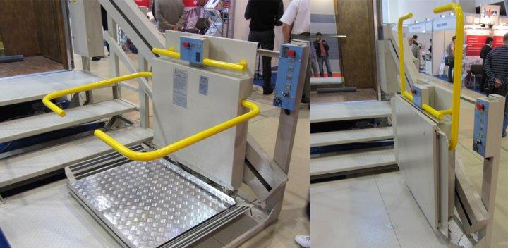 Подъёмник для инвалидов модели ПИН2010
