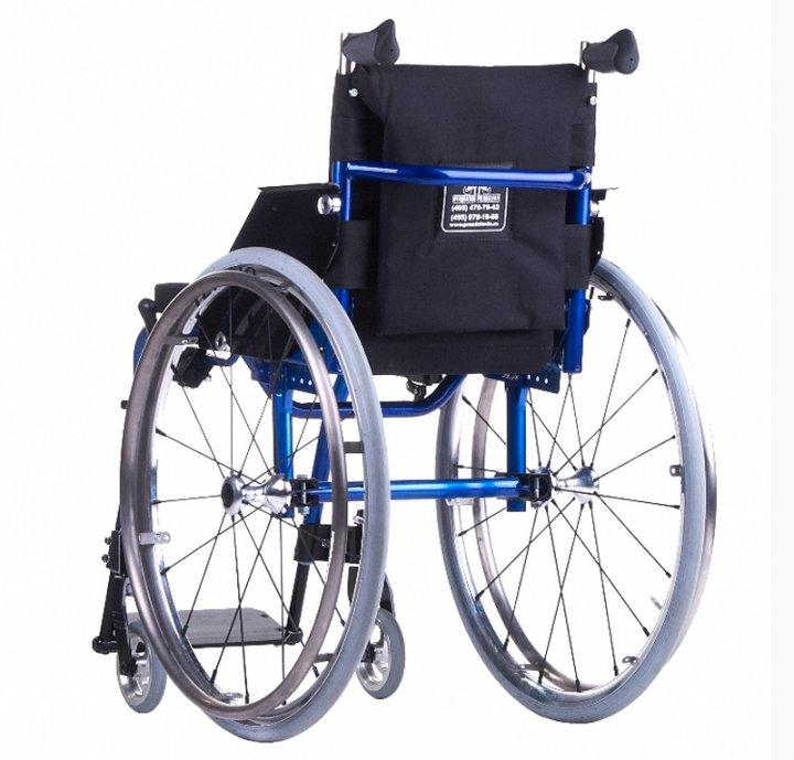 Инвалидная коляска «Искра» модель 201 фото