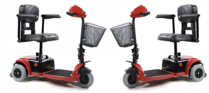 Скутер для инвалидов модель LY-103-125 картинки