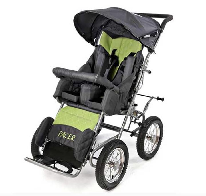 Детская инвалидная коляска RACER (ДЦП)(3 фото)