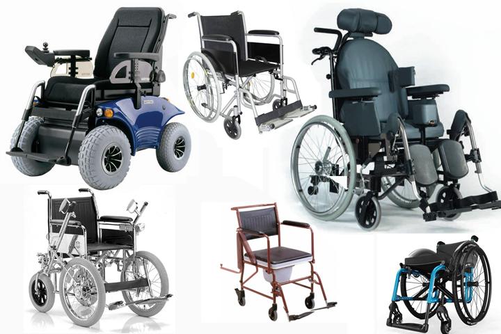 Виды инвалидных колясок (7 фото)