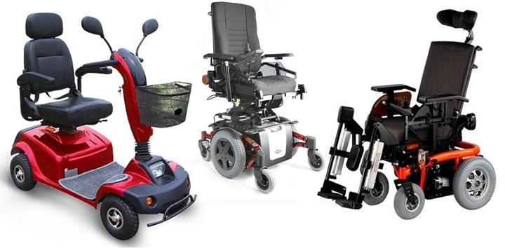 Инвалидные коляски с электроприводом (4 фото + видео)