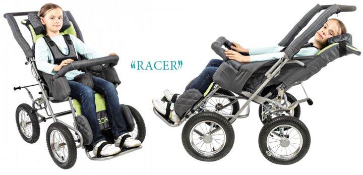 Детская инвалидная коляска RACER (ДЦП) картинка
