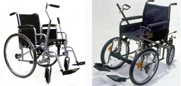 Виды инвалидных колясок рычажка