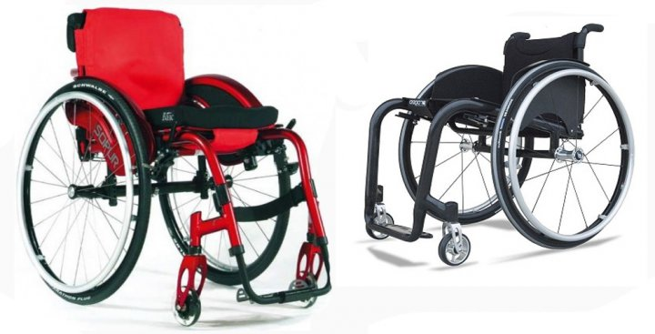 Виды инвалидных колясок активка
