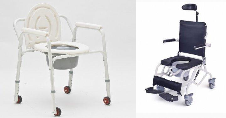 Виды инвалидных колясок туалет
