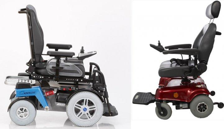 Инвалидные коляски с электроприводом виды