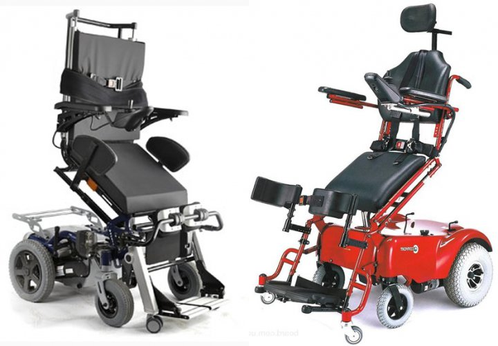 Инвалидные коляски с электроприводом картинка