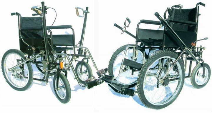 Инвалидная коляска  рычажка фото