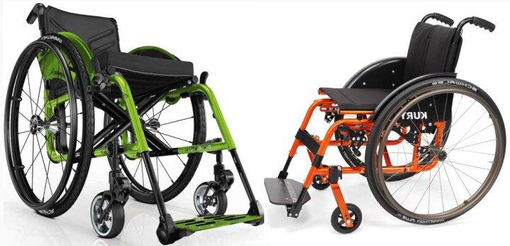 Инвалидная коляска активного типа картинка