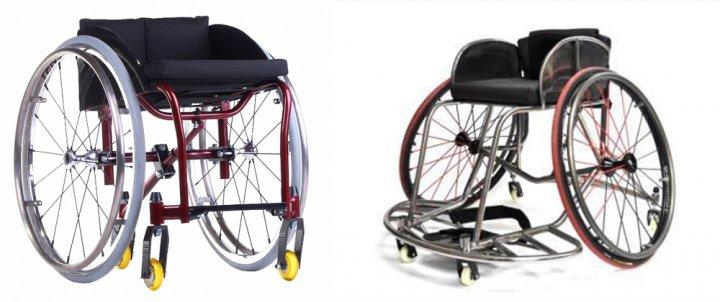 Инвалидная коляска активного типа спортивные