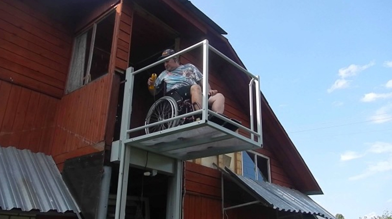 Подъемник для инвалидов своими руками