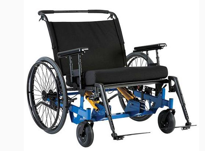 Инвалидная коляска для полных Eclipse Tilt LY-250-1202 (3 фото)