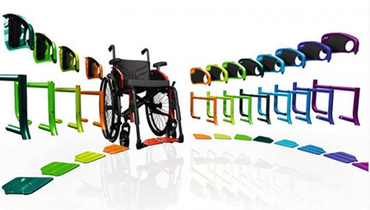 Активная инвалидная коляска Авангард CS (ottobock) цвет