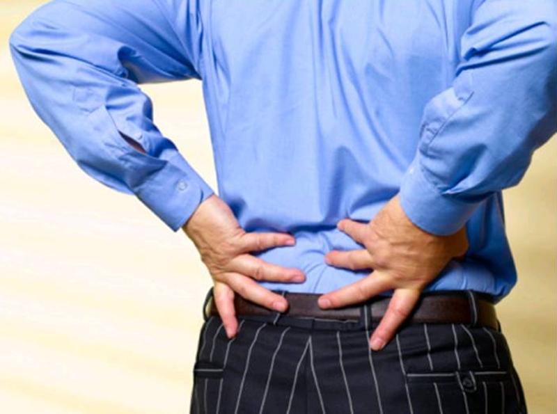 Боли в спине и простатит