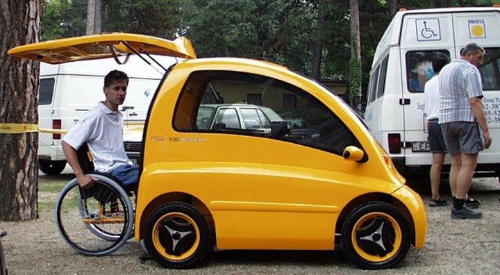 Машина для инвалидов Кенгуру