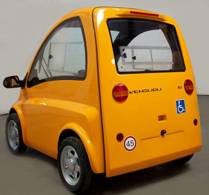 Машина для инвалидов Кенгуру фото