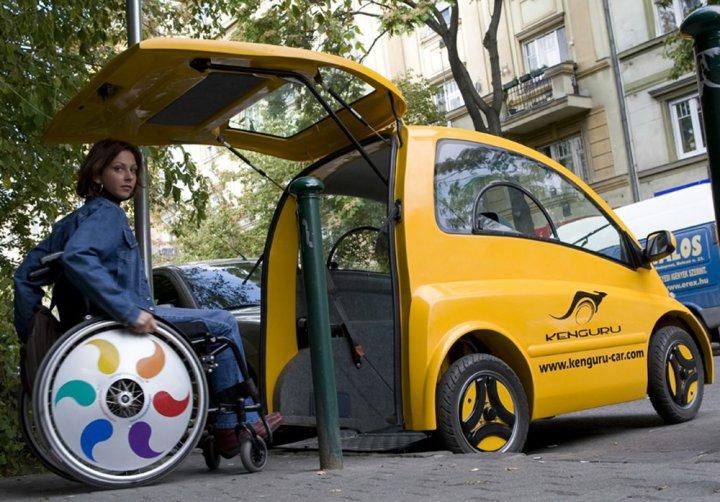 Автомобиль для инвалидов Kenguru  фото