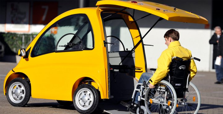 электромобиля  для инвалидов Kenguru