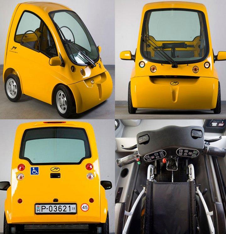 электромобиля  для инвалидов Kenguru фото